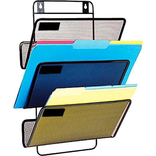 Suport metalic vertical documente de perete 3 buc/set