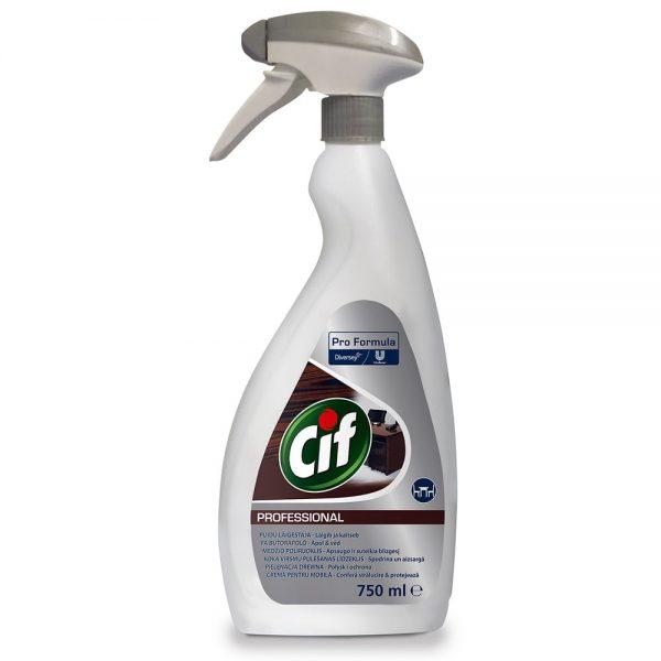 Detergent pentru mobilier, Cif Professional, 750ml