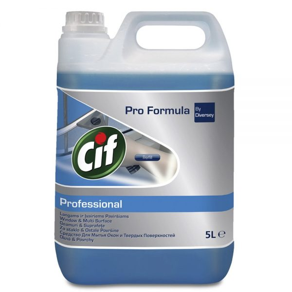 Detergent geamuri si oglinzi, Cif Professional, 5L