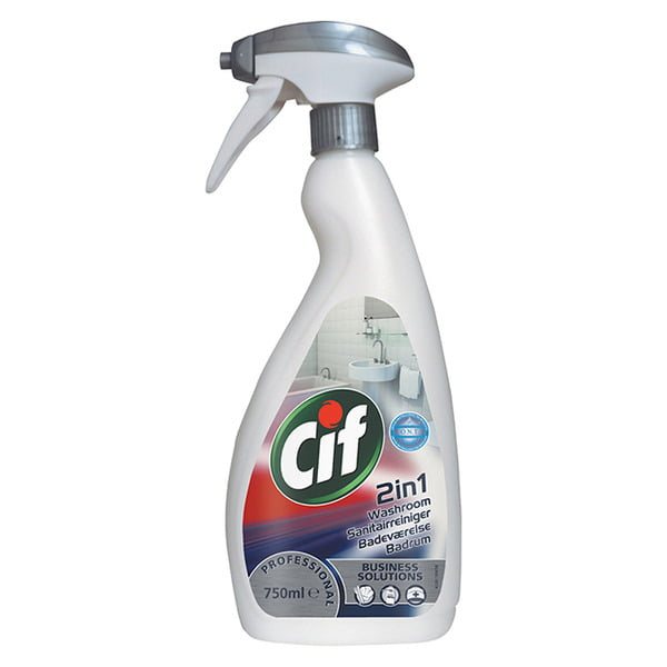 Detergent pentru baie Cif Professional 2in1, 750ml