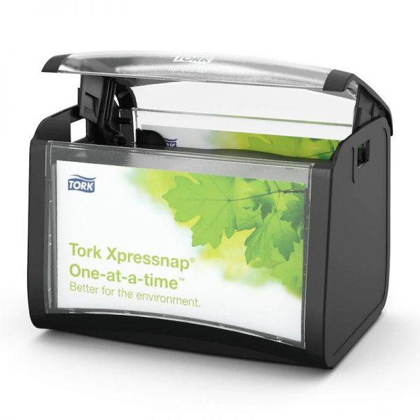 Dispenser din plastic pentru servetele de masa Xpressnap, Tork 272611