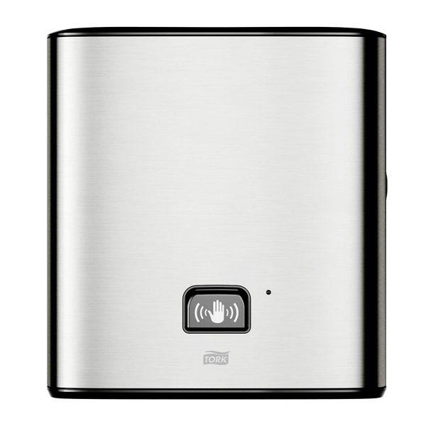Dispenser cu senzor din inox, pentru prosoape Matic, Tork 460001