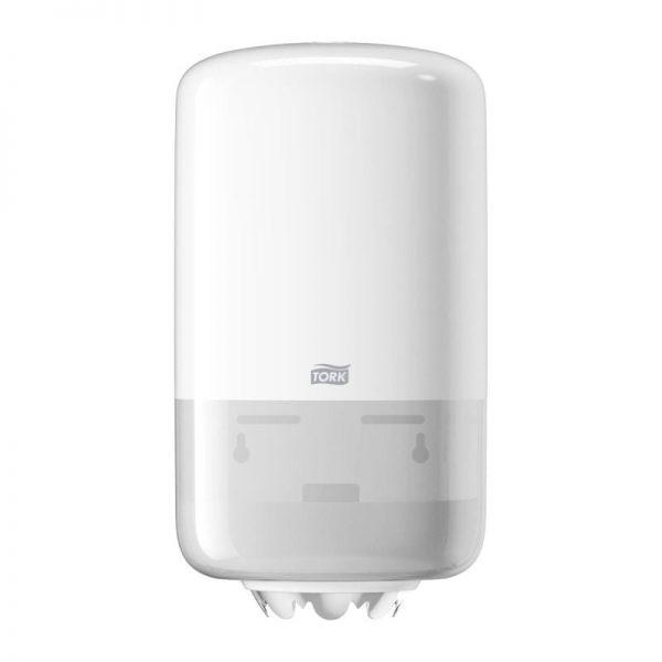 Dispenser din plastic, pentru prosoape cu derulare centrala Mini, Tork 558000/558008