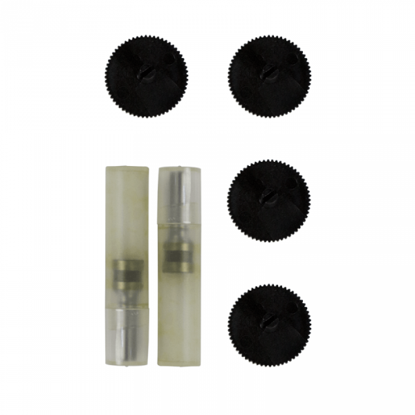 Set piese: 2 nituri metalice si 4 pad-uri din plastic pentru perforator EV2B16