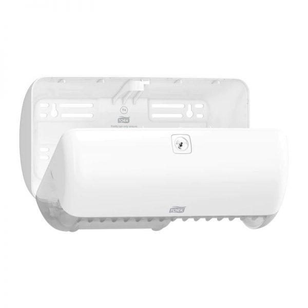 Dispenser din plastic pentru hartie igienica Conventional 2 role, Tork 557000/557008