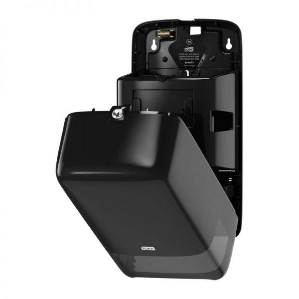 Dispenser din plastic pentru hartie igienica Compact 2 role, Tork 557500/557508