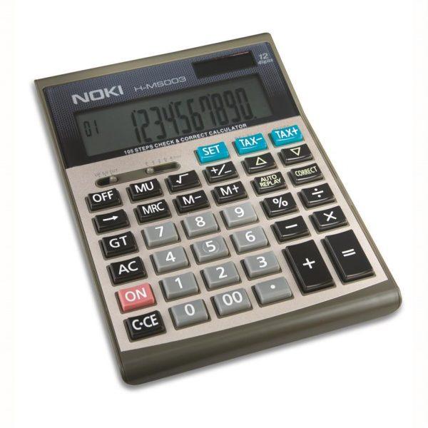 Calculator birou cu taxe, 12 digiti HMS003 Noki