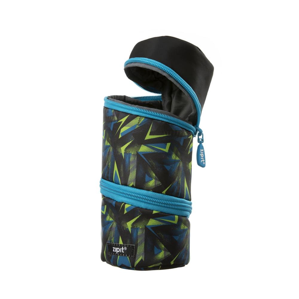 Penar cu fermoar Looper ZIPIT tube - diverse culori - negru/albastru
