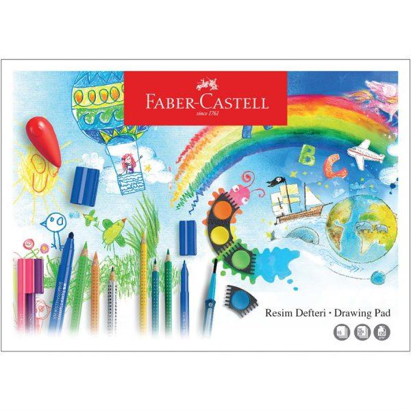 Bloc desen A3, 15 file, 120g/mp, Faber-Castell