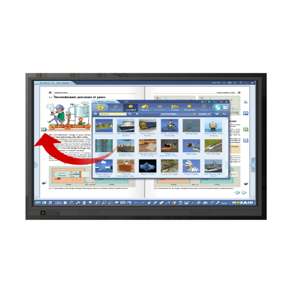 Pachet interactiv Educational Newline 75 RS