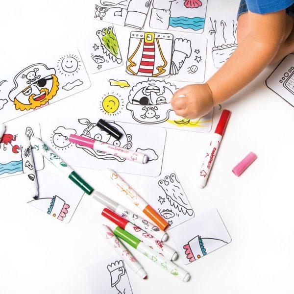 Set articole creative CARIOCA Baby Combino Tales 2+