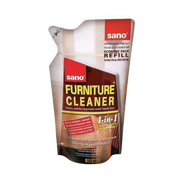 Rezerva detergent pentru mobila SANO Furniture, 500 ml