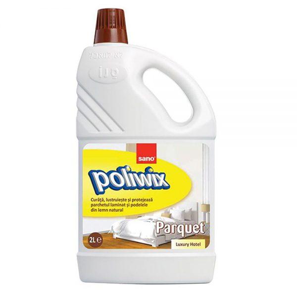 Detergent parchet SANO Poliwix Parquet Luxury Hotel, 2 L