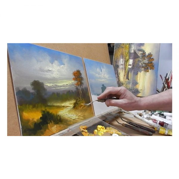 Cutite pictura DACO, 5 buc/set