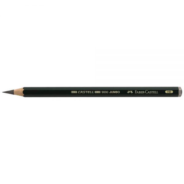 Creion Grafit Jumbo, Castell 9000, Faber-Castell