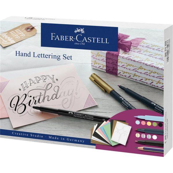 Set caligrafic pentru incepatori, Pit Artist Pen, Faber-Castell
