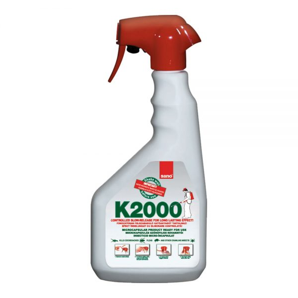 Solutie impotriva insectelor taratoare, 750 ml, SANO K2000