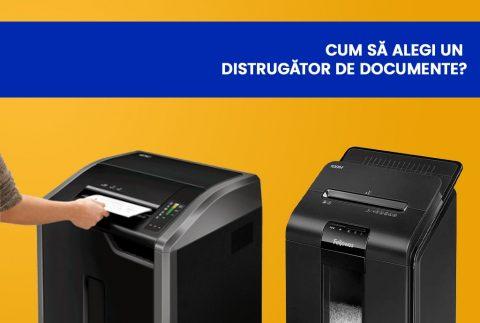 Cum sa alegi un distrugator de documente?