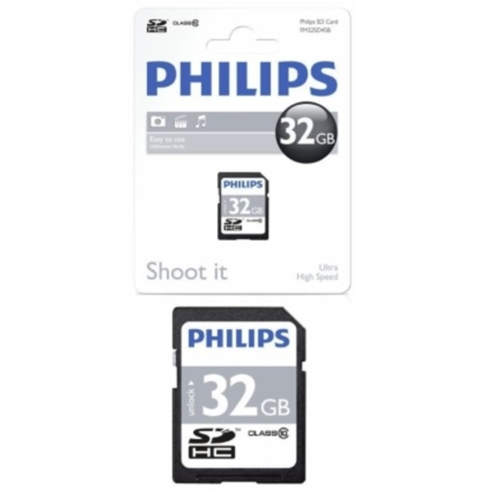 Card memorie SDHC clasa 10, PHILIPS - 32GB
