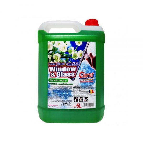 Detergent pentru geam Cloret Lacramioara 5 L