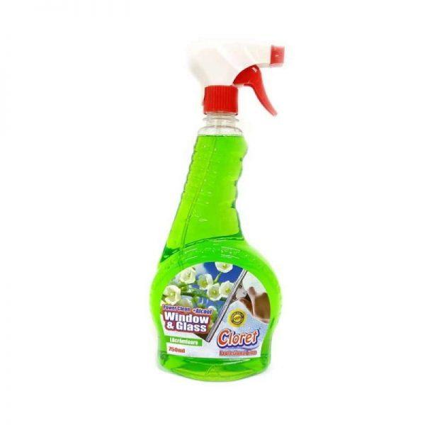 Detergent geam Cloret Lacramioare 750ml
