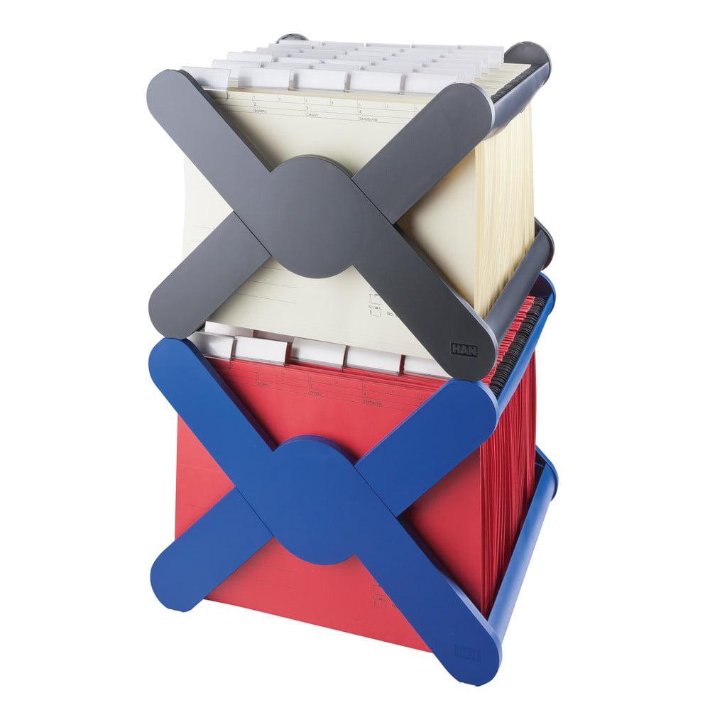 Suport dosare suspendabile HAN X-Cross - negru