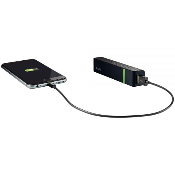Baterie externa Leitz Complete, 2600 mAh, USB-A 5V, Micro-USB 5V