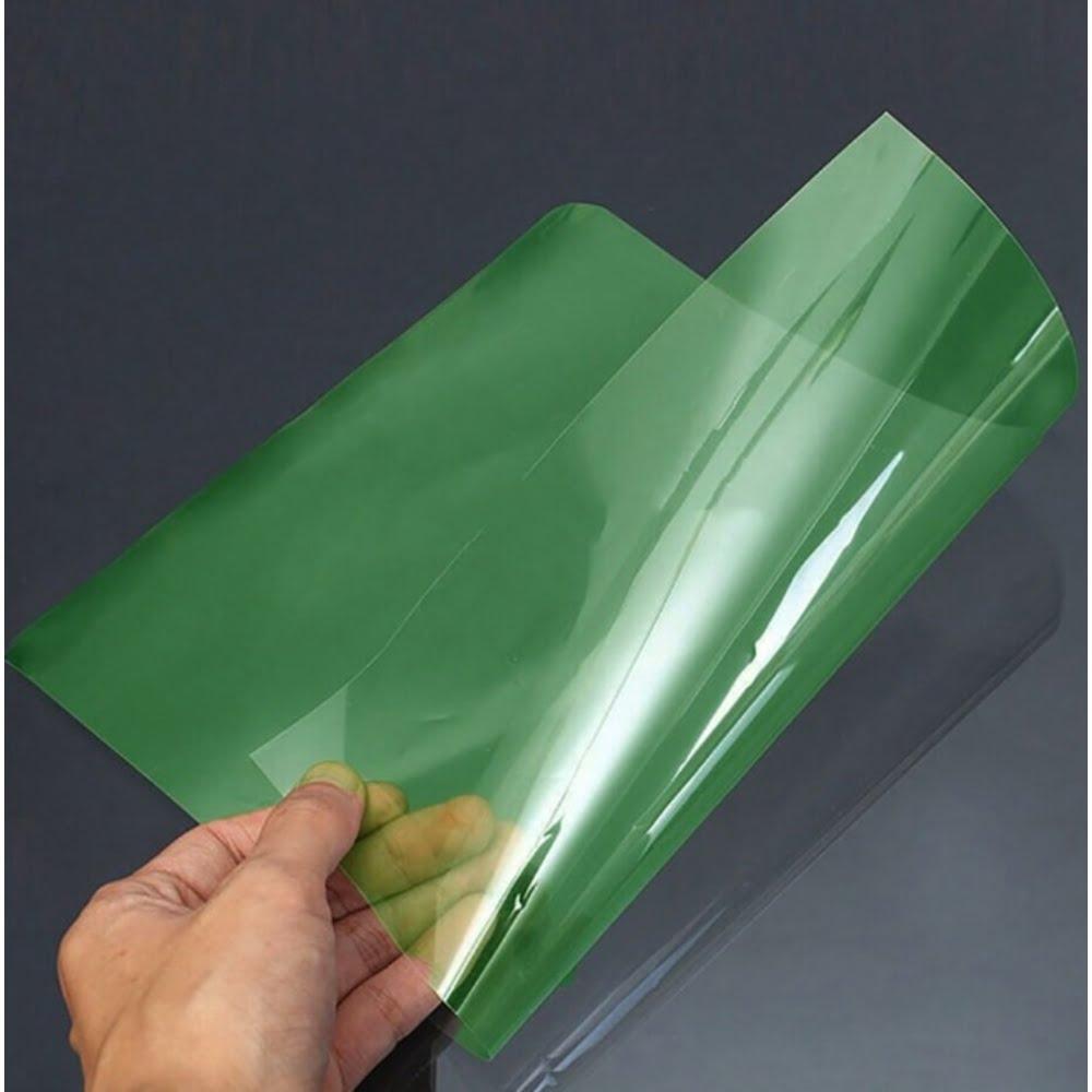 Coperta plastic PVC A4, 200 microni, 100/top Office Products - culori transparente