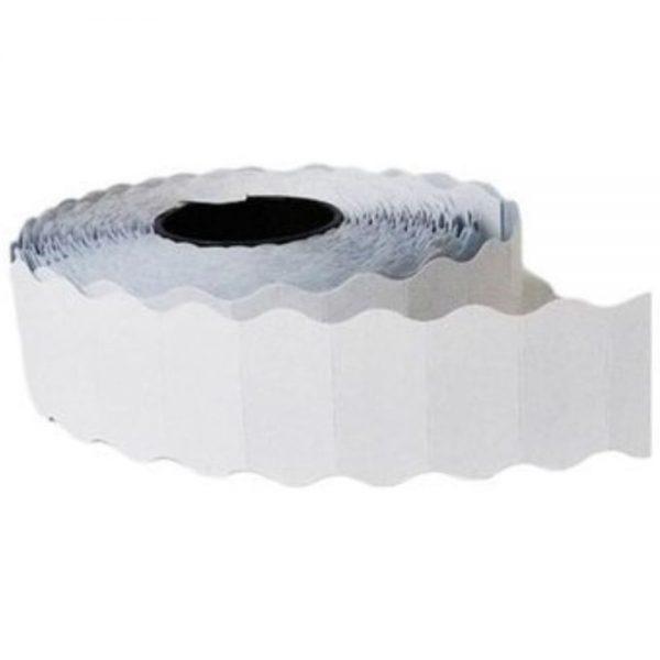 Etichete de pret albe 22x12 mm, 1500buc/rola, TANEX