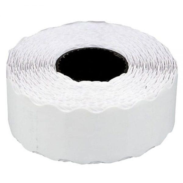 Etichete de pret 26 x 16 mm, adeziv permanent, 1000buc/rola, 6 role/set, TANEX - albe