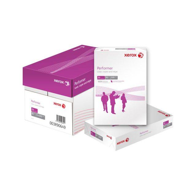 Hartie XEROX Performer, A4, 80 g/mp, 500 coli/top