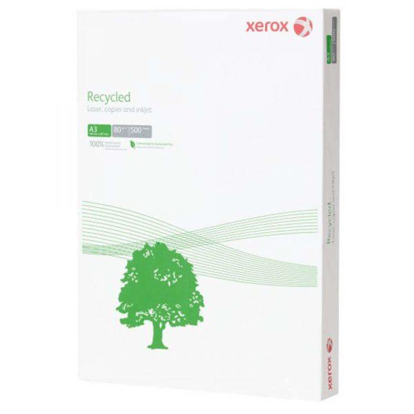 Hartie reciclata XEROX Recycled A3, 80 g/mp, 500 coli/top