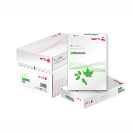 Hartie reciclata XEROX Recycled A4+, 80 g/mp, 500 coli/top