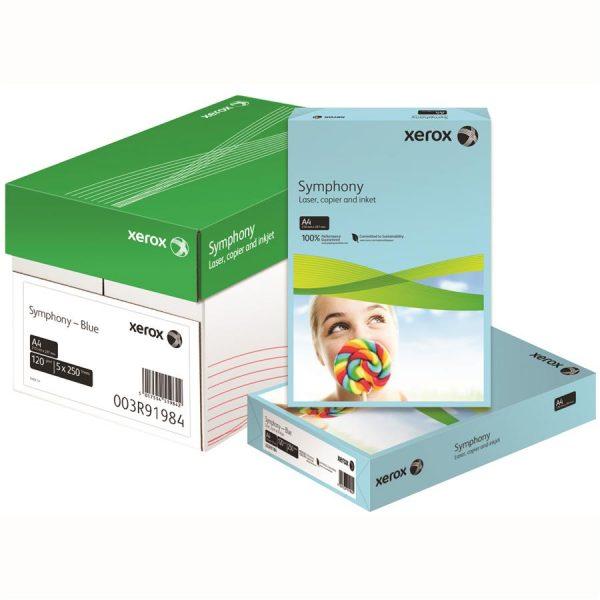 Hartie color A3 XEROX Symphony pastel, 80 g/mp, 500 coli/top