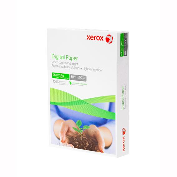 Hartie XEROX Digital, A4, 80g/mp, 500 coli/top