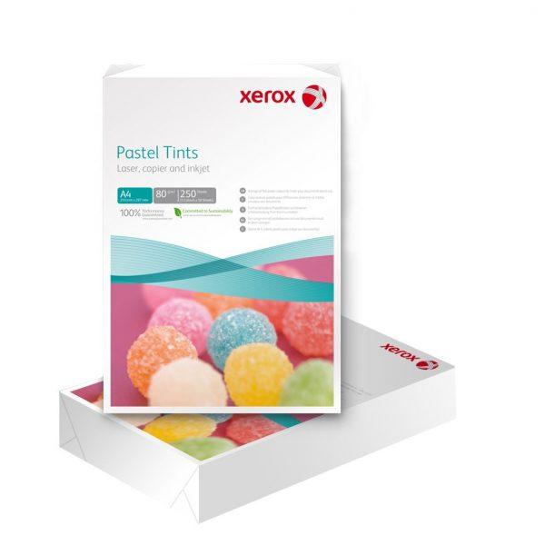 Hartie color A4 asortata XEROX Symphony mid, 80 g/mp, 250 coli/top