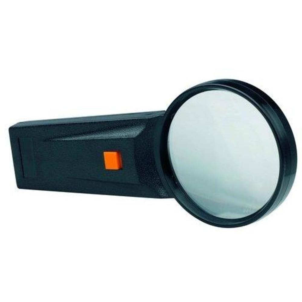 Lupa sticla cu led D75mm, 4x, ALCO