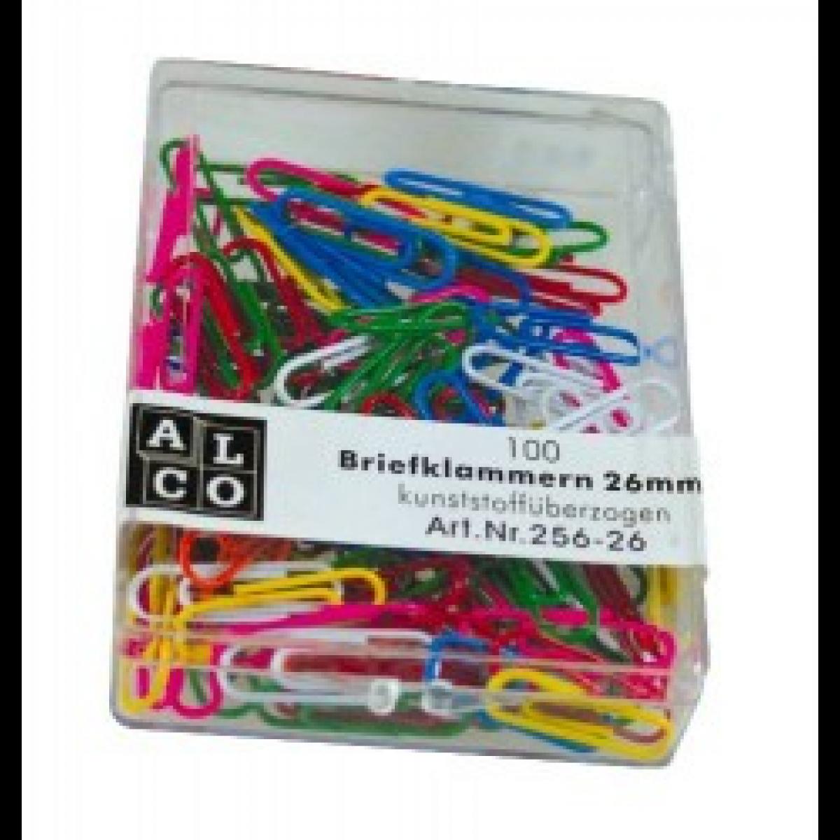 Agrafe colorate 32 mm, 100/cutie, ALCO