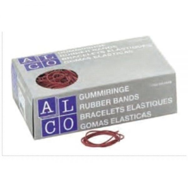 Elastice pentru bani, D 100 x 5 mm, 500g/cutie, ALCO