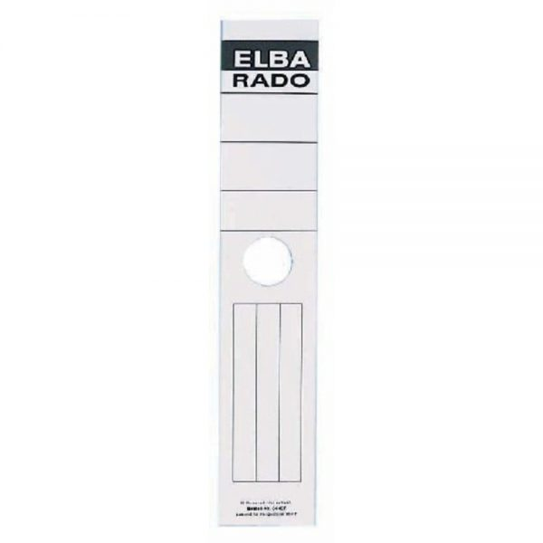 Etichete autoadezive pentru biblioraft suspendabil 59 x 290 mm, 10/set, ELBA