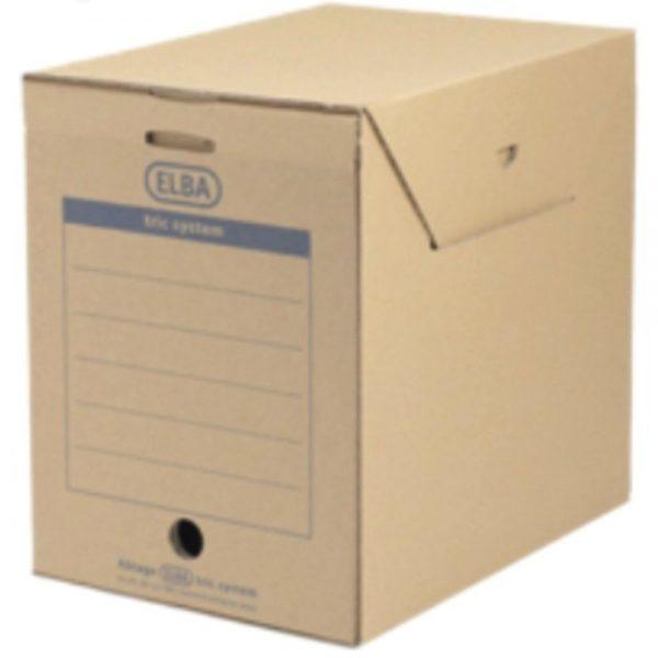 Cutie arhivare kraft 236 x 333 x 308 mm, ELBA Tric Maxi