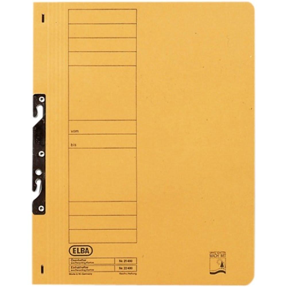 Dosar carton color incopciat 1/1 ELBA Smart Line
