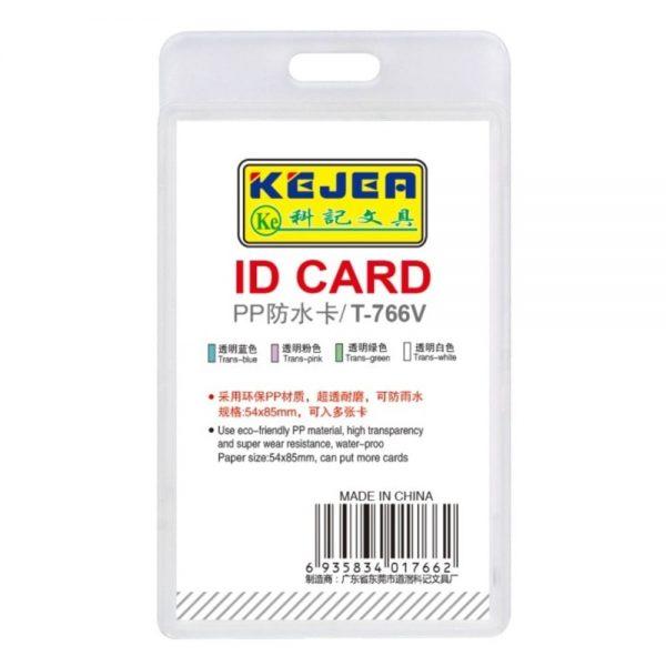 Suport carduri vertical, 54x85 mm KEJEA T-766V, 5 buc/set