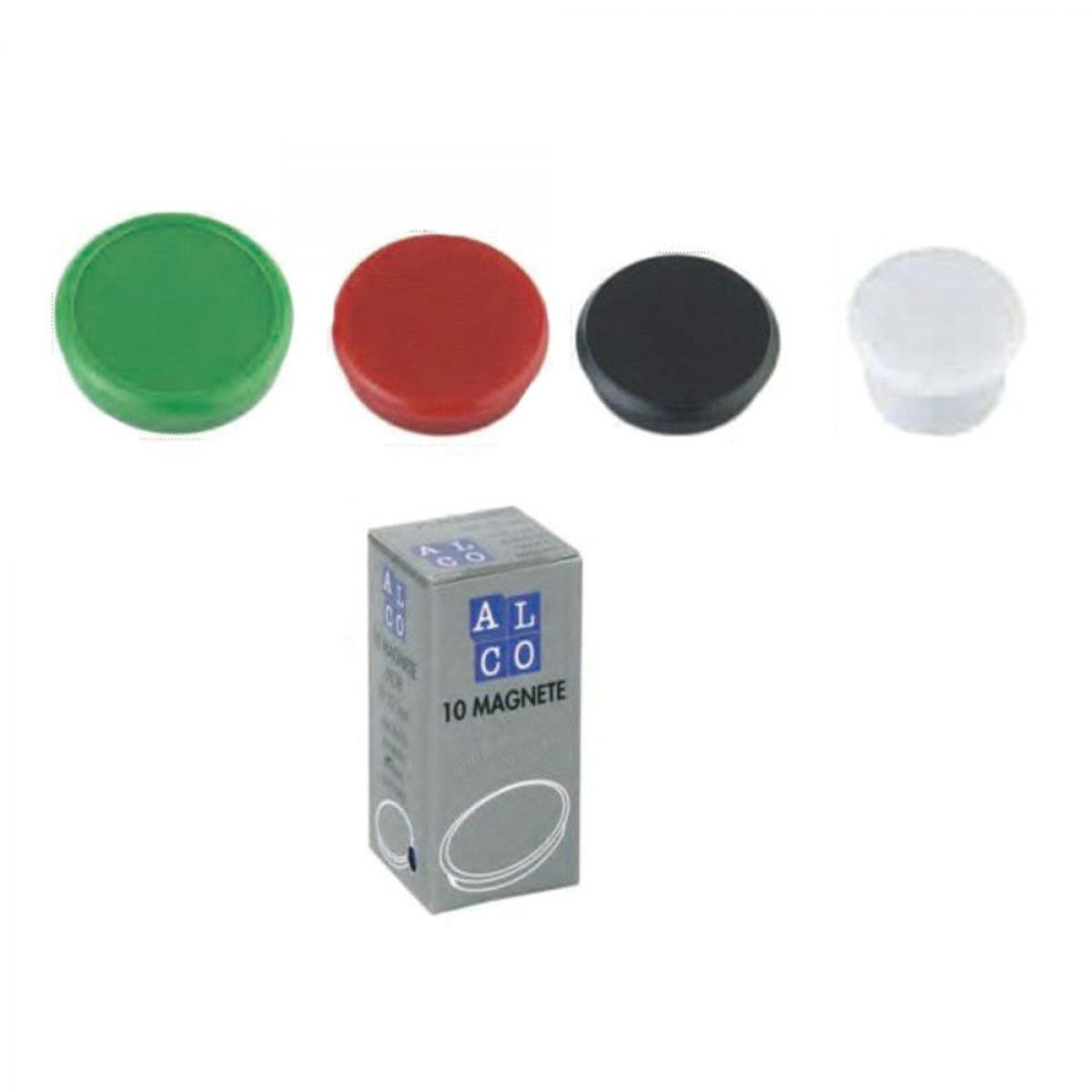 Magneti pentru tabla, D24 mm, ALCO, 10 buc/set