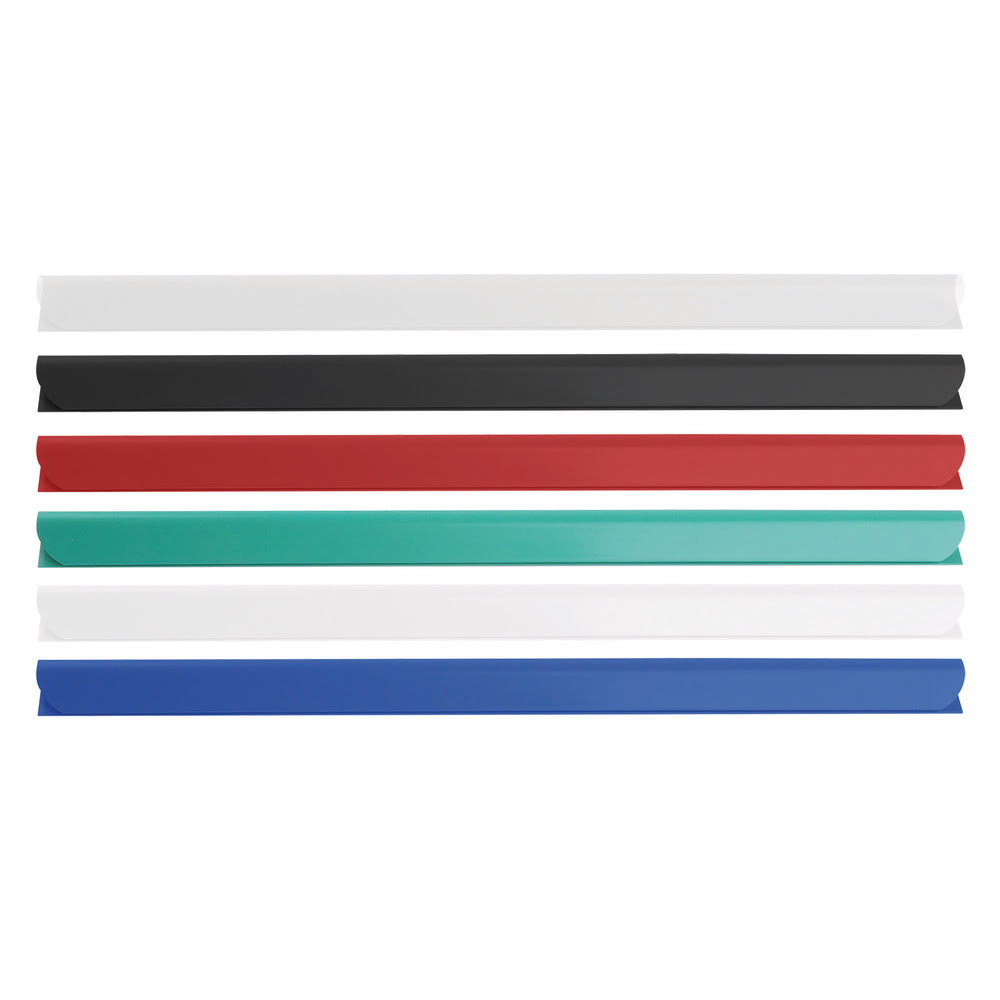 Bagheta legare documente, 10 mm, DONAU, 10 buc/set