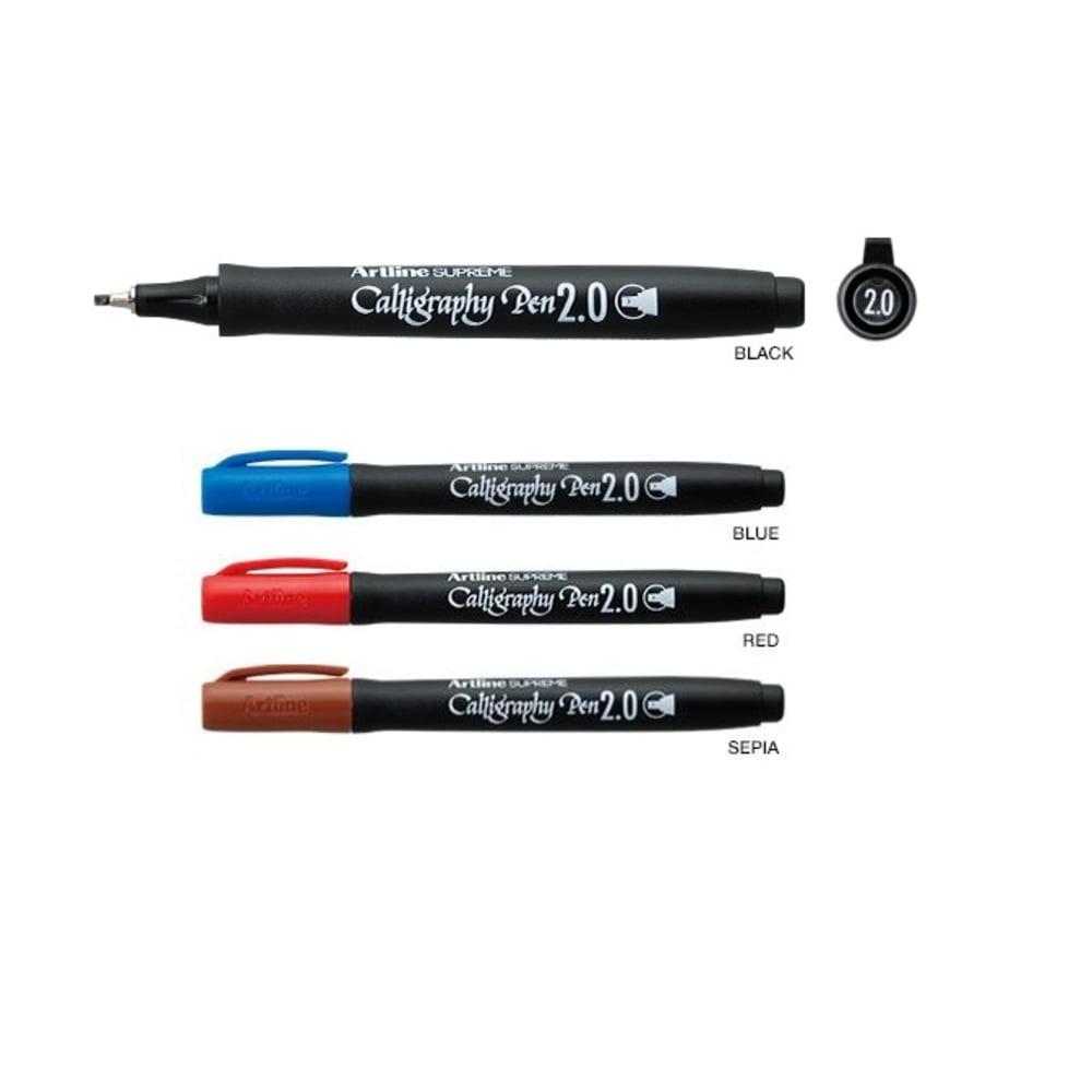 Marker caligrafie varf 2mm ARTLINE Supreme Calligraphy