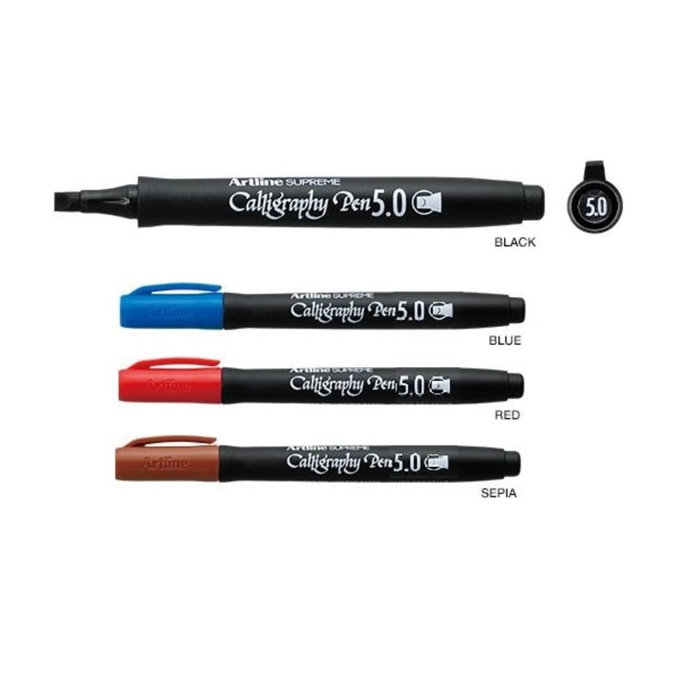 Marker caligrafie varf 5mm ARTLINE Supreme Calligraphy