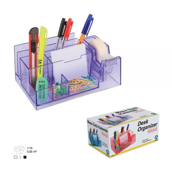 Suport accesorii birou 10 compartimente Ark