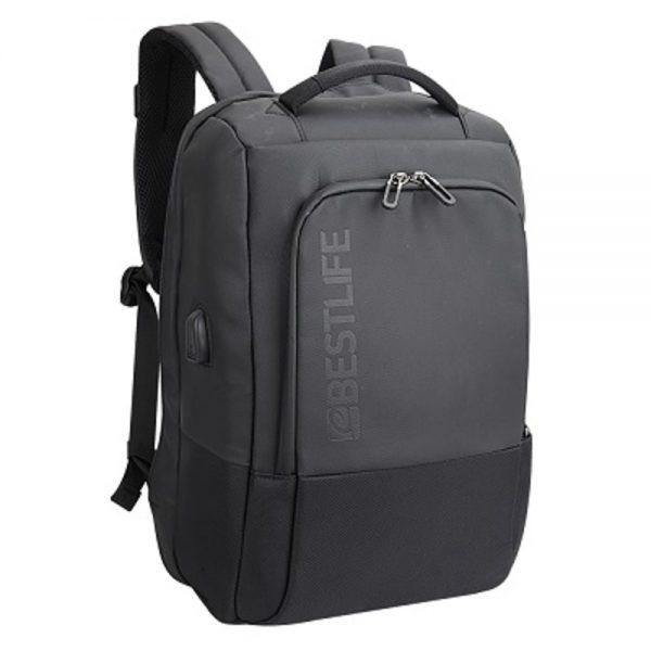 Rucsac pentru laptop BESTLIFE Neoton, 16 inch, charge pentru USB si TypeC