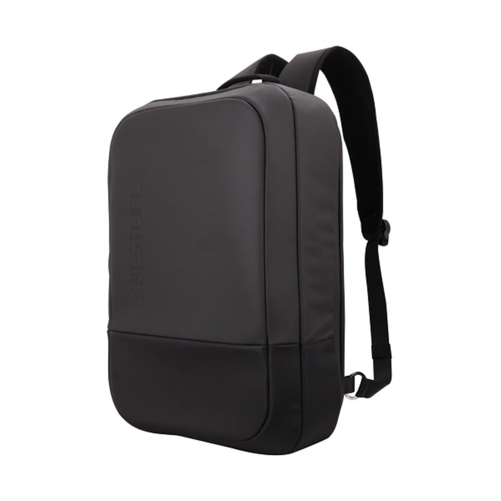 Rucsac pentru laptop BESTLIFE Neoton SLIM, 16 inch, charge pentru USB si TypeC